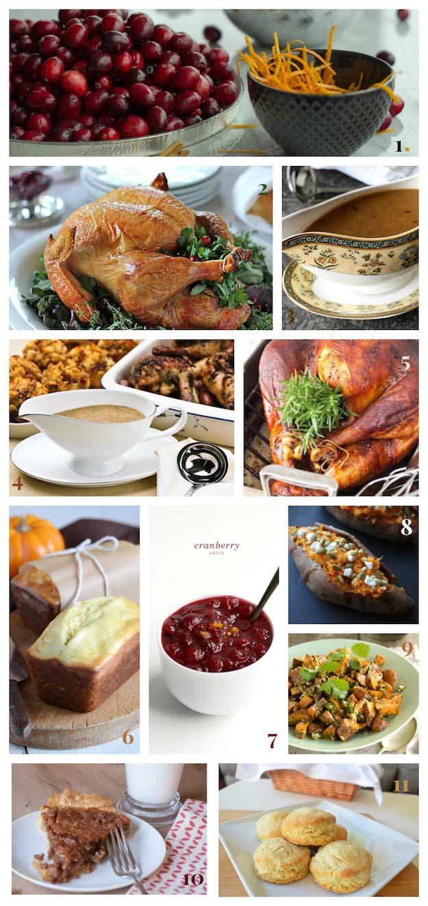 Thanksgiving dinner menu 11 delicious recipes for Gourmet dinner menu ideas