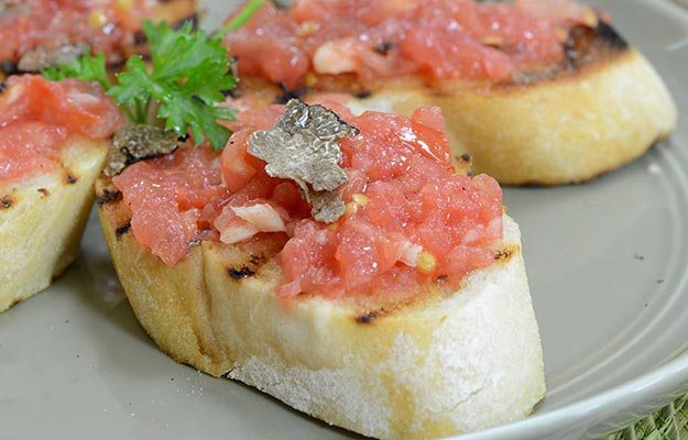 Thanksgiving Appetizer Crostini