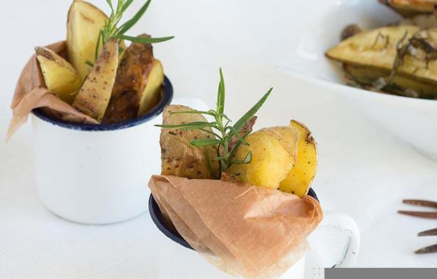 Thanksgiving Side Rosemary Potatoes
