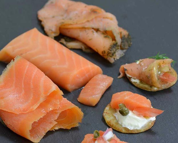 Smoked Salmon Trio