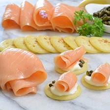 Scottish Smoked Salmon - Hand-Sliced - Kosher