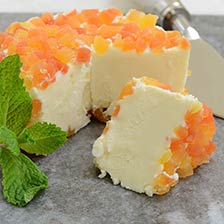 Brillat Savarin with Papaya