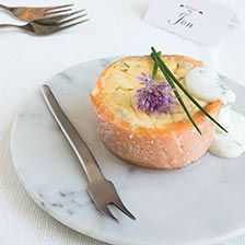 Smoked Salmon Mini Quiches Recipe