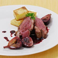 Duck Breast With Wine And Figs Recipe