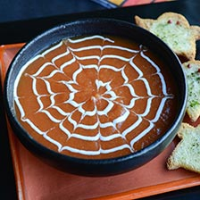 Spiderweb Soup Halloween Recipe