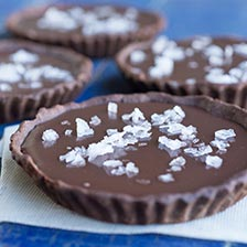 Sea Salt Chocolate Ganache Tart Recipe