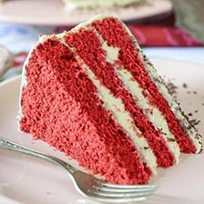 Three Layer Red Velvet Cake Recipe