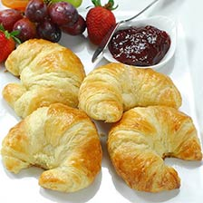 100% Butter French Croissants - 3.5 oz, Frozen, Unbaked