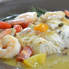 Sauted Halibut In Lemon Butter Wine Sauce Recipe