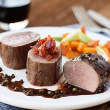 Venison Tenderloin In Peppercorn Sauce Recipe