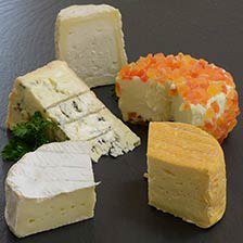 5 French Cheese Sampler Board