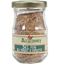 Fine Sea Salt with Espelette Pepper
