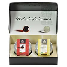 Gift Box: White Balsamic Pearls & Balsamic Pearls