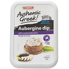 Authentic Greek Eggplant Dip