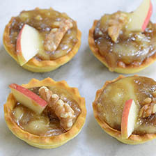 Baked Camembert and Brown Sugar Mini Tarts Recipe