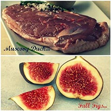 Duck Breast Recipe With Wine And Figs