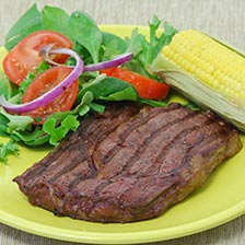Bison Rib Eye Steaks