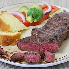 Bison Top Sirloin Steaks