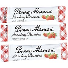 Bonne Maman Strawberry Preserves - Portion Sticks