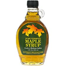 Pure Vermont Maple Syrup - Grade A Medium Amber