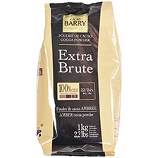 Cacao Barry Cocoa Powder - 100% Cacao - Extra Brute
