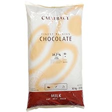 Belgian Milk Chocolate Baking Callets (Chips) - 31.7%