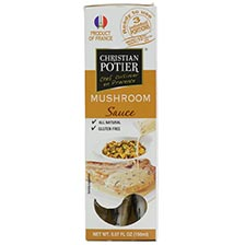 Christian Potier French Mushroom Sauce | Gourmet Food World