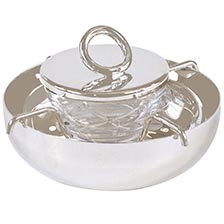 Christofle Silver Caviar Server