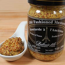 French Whole Grain Old Fashioned Mustard