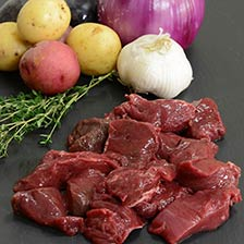 Bison Stew Meat, Diced