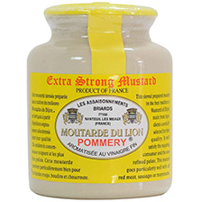Pommery Extra Strong Mustard - Moutarde du Lion | Gourmet Food Store