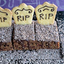 For Kids and Grownups! Halloween Graveyard Cake Recipe