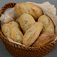 French Multigrain Mini Bread - Frozen