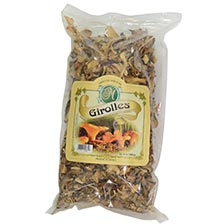 French Golden Chanterelle Mushrooms - Dried