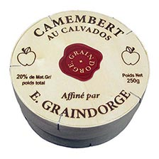 Camembert With Calvados - Pre Order -