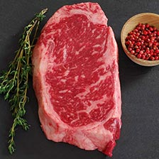 Wagyu Beef New York Strip Steak - MS8 - Whole, Cut To Order
