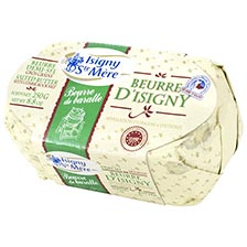 Isigny Beurre de Baratte Butter, Salted