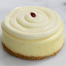 Key Lime Raspberry Mini Cheesecake