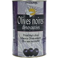 Pitted Black Olives - Olives Noires