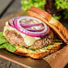 Lamb Burgers With Sriracha Mayo Recipe