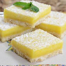 Lilly's Lemon Shortbread Bar