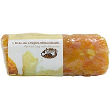 Apricot Log with Almonds