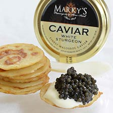 Italian White Sturgeon Caviar Gift Set
