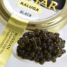 Kaluga Fusion Black Sturgeon Caviar - Malossol, Farm Raised