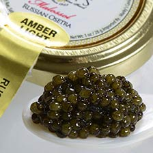 Osetra Karat Light Amber Russian Caviar - Malossol, Farm Raised