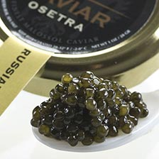Osetra Russian Caviar - Malossol, Farm Raised
