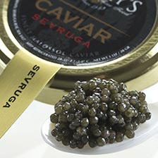 Sevruga Caviar - Malossol, Farm Raised