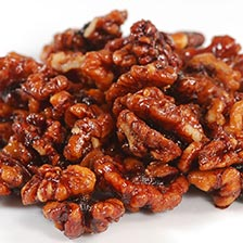Spanish Carmelized Walnuts