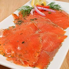 Norwegian Gravlax Smoked Salmon