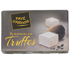 Pave d'Affinois with Truffles